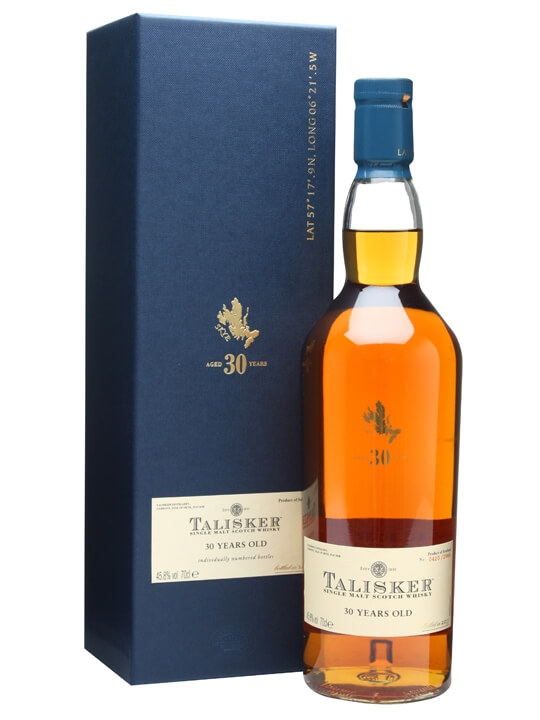 Talisker 30 Year Old / Bot.2011 Island Single Malt Scotch Whisky