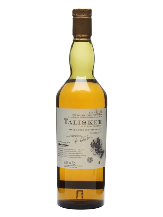 Talisker - Isle Of Eigg Island Single Malt Scotch Whisky