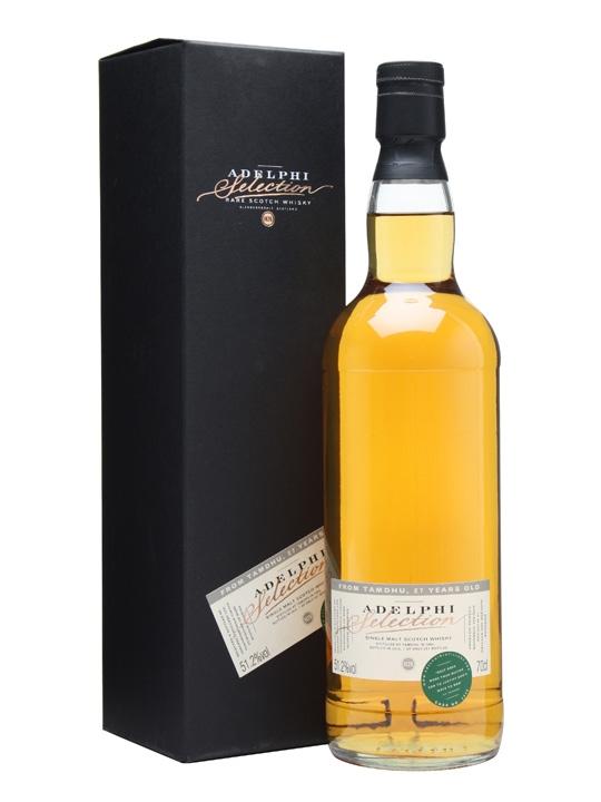 Tamdhu 1984 / 27 Year Old / Cask #2840 / Adelphi Speyside Whisky