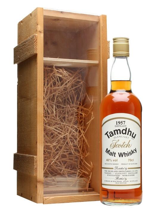 Tamdhu 1957 / Gordon & Macphail / Bot.1970s Speyside Whisky