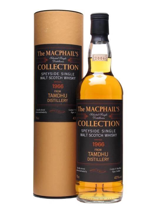 Tamdhu 1966 / Macphail's Collection / Gordon & Macphail Speyside Whisky