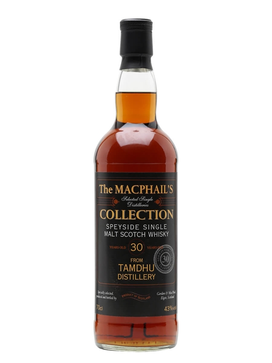 Tamdhu 30 Year Old/ Macphail's Collection/ Gordon & Macphail Speyside Whisky