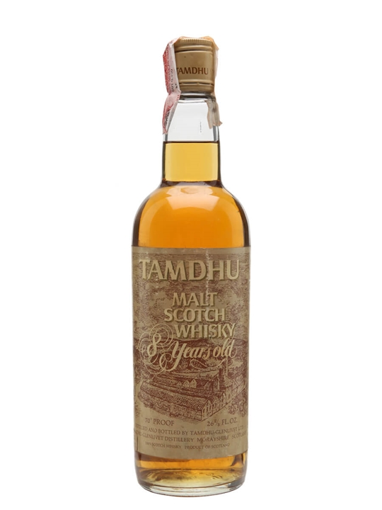 Tamdhu 8 Year Old / Bot. 1970's Speyside Single Malt Scotch Whisky