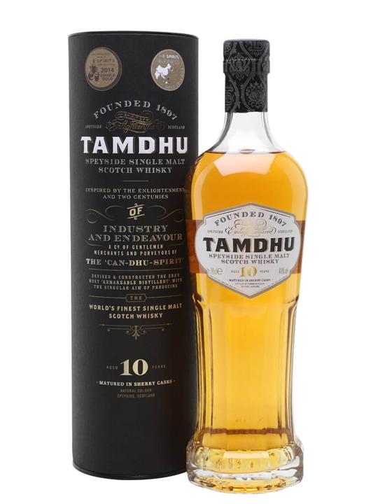 Tamdhu 10 Year Old Speyside Single Malt Scotch Whisky