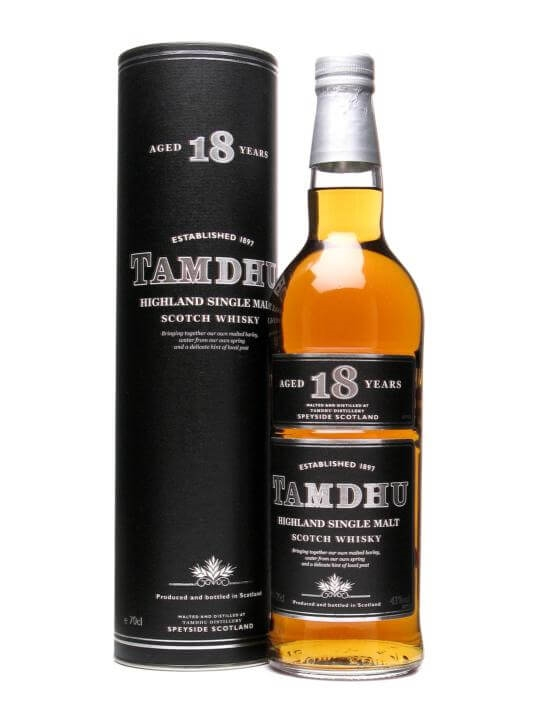 Tamdhu 18 Year Old Speyside Single Malt Scotch Whisky