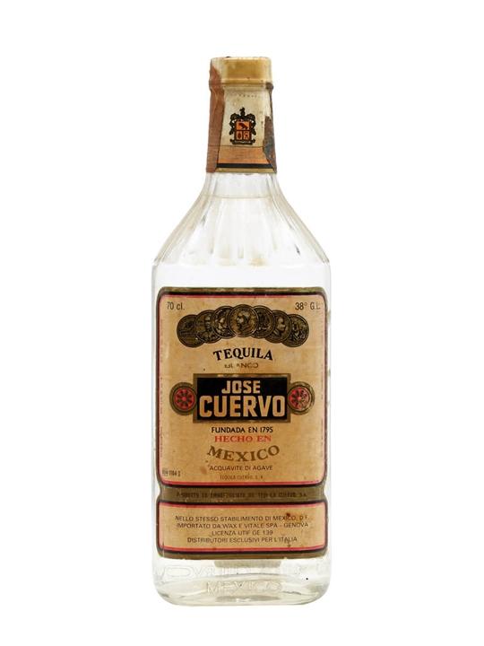 Jose Cuervo Tequila Blanco / Bot.1980s