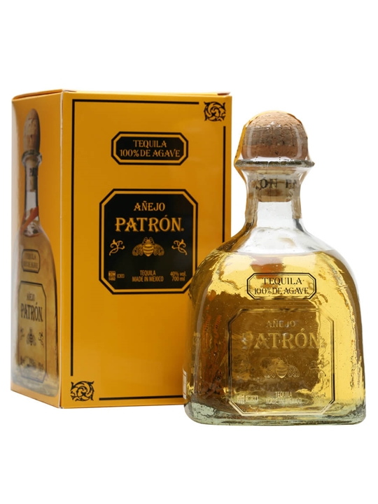 Patron Anejo Tequila The Whisky Exchange