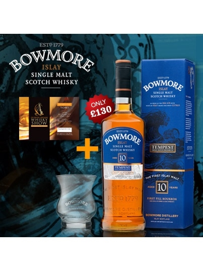 Whisky Show Bundle - Bowmore Tempest With Sunday Show Ticket