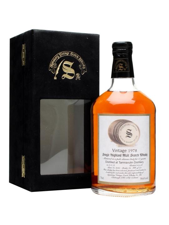Tamnavulin 1978 / 17 Year Old / Oloroso Butt #8065 Speyside Whisky