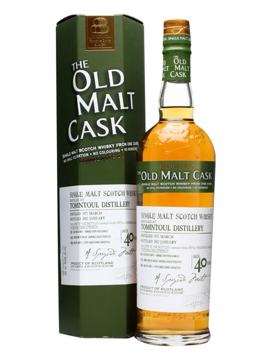 Tomintoul 1971 / 40 Year Old / Old Malt Cask #8007 Speyside Whisky