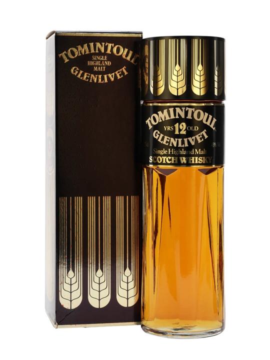 Tomintoul-glenlivet 12 Year Old / Bot.1980s Speyside Whisky