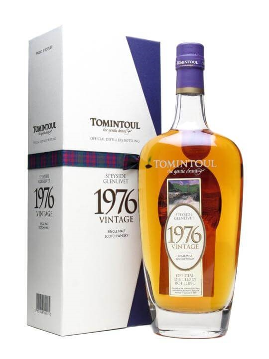 Tomintoul 1976 Speyside Single Malt Scotch Whisky