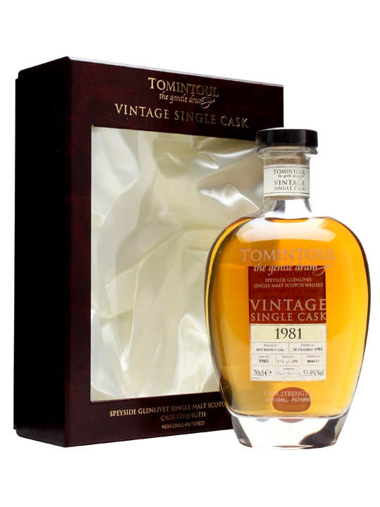 Tomintoul 1981 / 31 Year Old / Cask #5985 Speyside Whisky