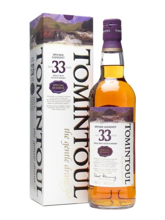 Tomintoul 33 Year Old / Special Reserve Speyside Whisky