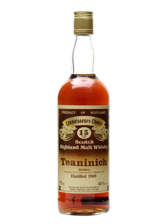 Teaninich 1969 / 15 Year Old / Connoisseurs Choice Highland Whisky
