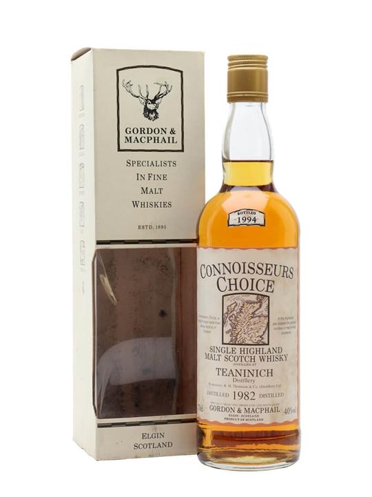 Teaninich 1982 / Bot.1994 / Connoisseurs Choice Highland Whisky
