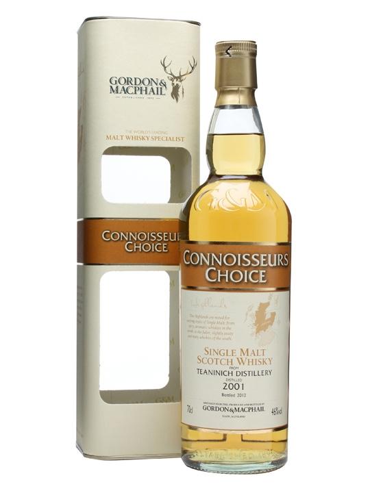 Teaninich 2001 / Connoisseurs Choice Highland Whisky