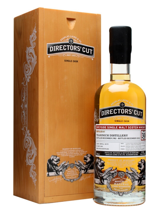 Teaninich 1982 / 30 Year Old / Director's Cut / Cask #9323 Highland Whisky