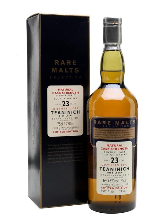 Teaninich 1972 / 23 Year Old Highland Single Malt Scotch Whisky