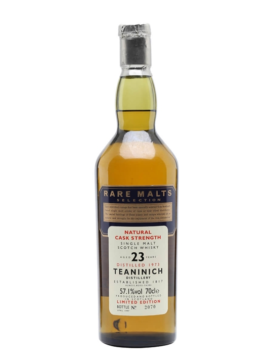 Teaninich 1973 / 23 Year Old Highland Single Malt Scotch Whisky