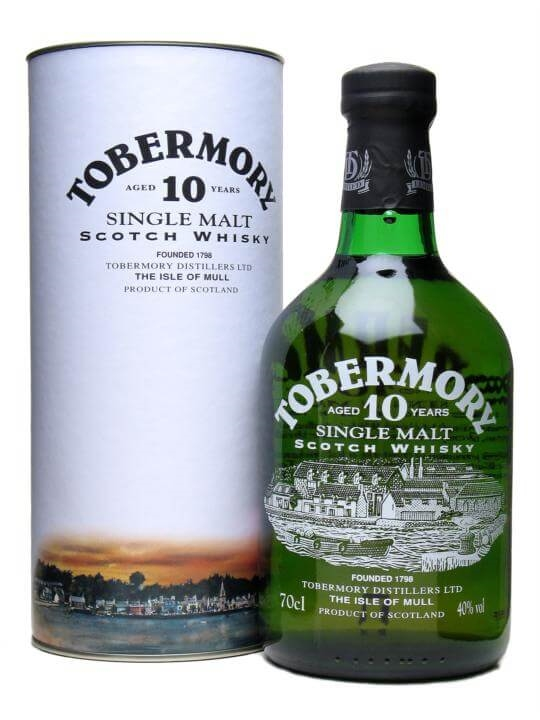 Tobermory 10 Year Old Island Single Malt Scotch Whisky