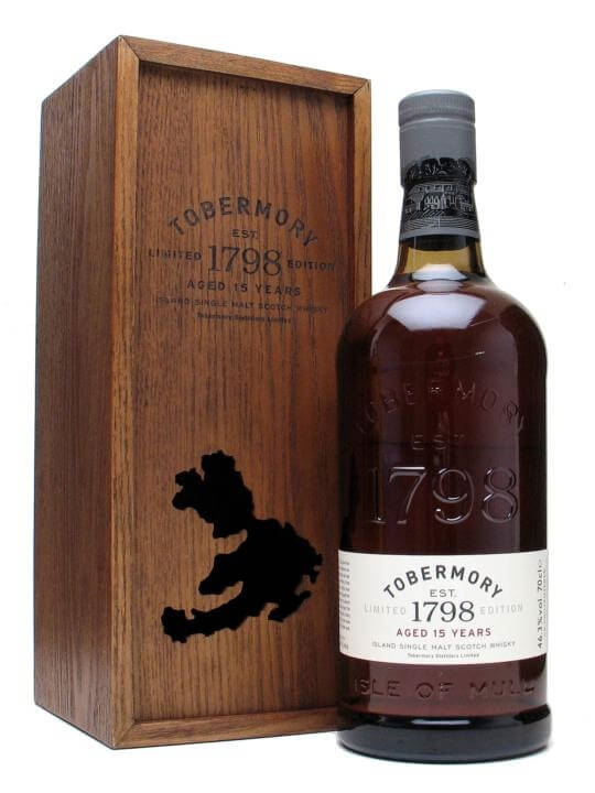 Tobermory 15 Year Old Island Single Malt Scotch Whisky