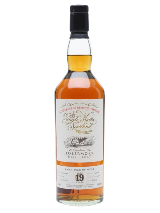 Tobermory 1994 / 19 Year Old / Single Malts of Scotland Island Whisky