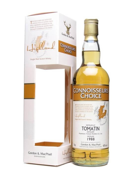 Tomatin 1988 / Connoisseurs Choice Speyside Single Malt Scotch Whisky