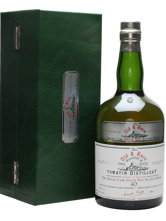 Tomatin 1962 / 40 Year Old / Platinum Selection Speyside Whisky