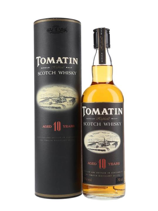 Tomatin 10 Year Old Speyside Single Malt Scotch Whisky