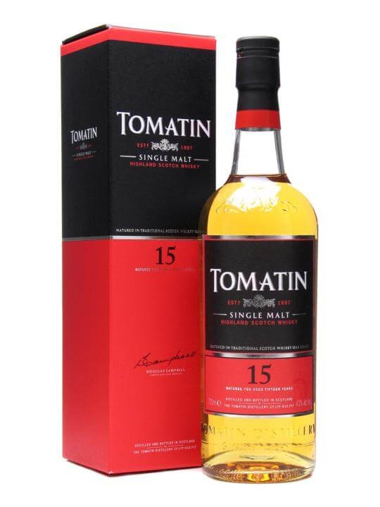 Tomatin 15 Year Old Speyside Single Malt Scotch Whisky
