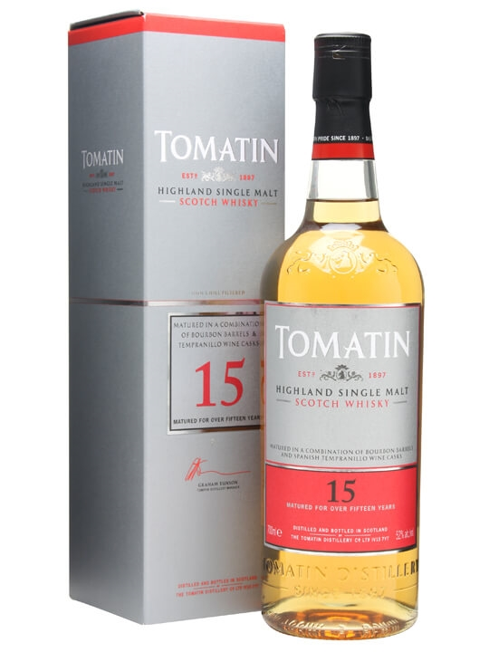 Tomatin 15 Year Old Limited Edition / Tempranillo Finish Highland Whisky