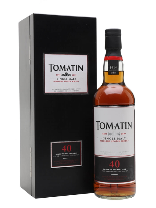 Tomatin 1967 / 40 Year Old / Bourbon Cask Speyside Whisky