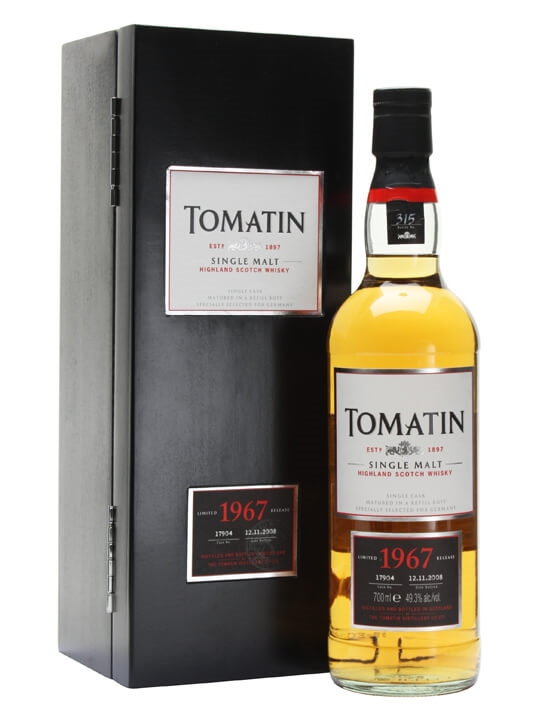 Tomatin 1967 / 40 Year Old / Refill Butt #17904 Speyside Whisky