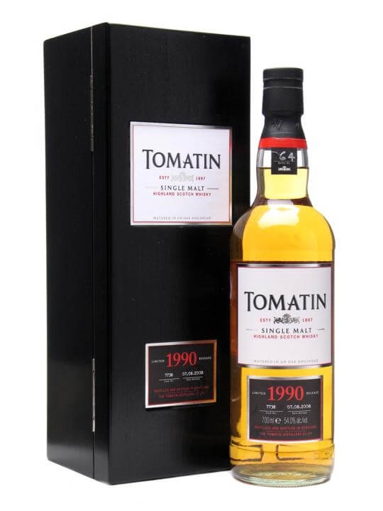 Tomatin 1990 / 18 Year Old / Cask #7738 Speyside Whisky