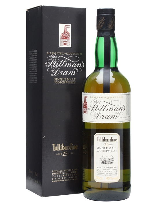 Tullibardine 25 Year Old / Stillmans Dram Highland Whisky