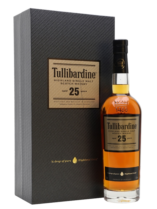 Tullibardine 25 Year Old Highland Single Malt Scotch Whisky