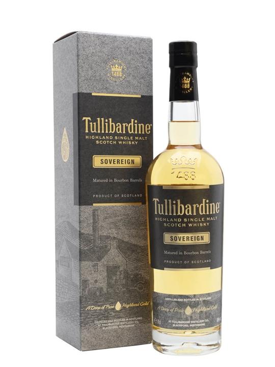 Tullibardine Sovereign / Bourbon Cask Highland Whisky