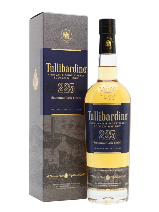 Tullibardine 225 / Sauternes Finish Highland Single Malt Scotch Whisky