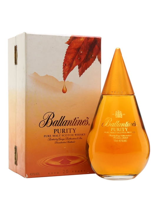 Ballantine's Purity 20 Year Old / 43% / 50cl Blended Whisky