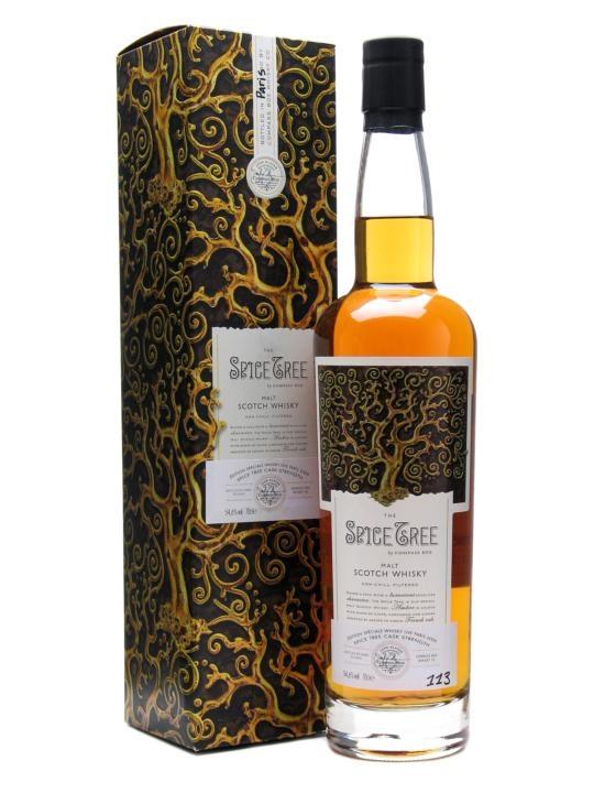 Compass Box The Spice Tree Cask Strength Blended Malt Scotch Whisky