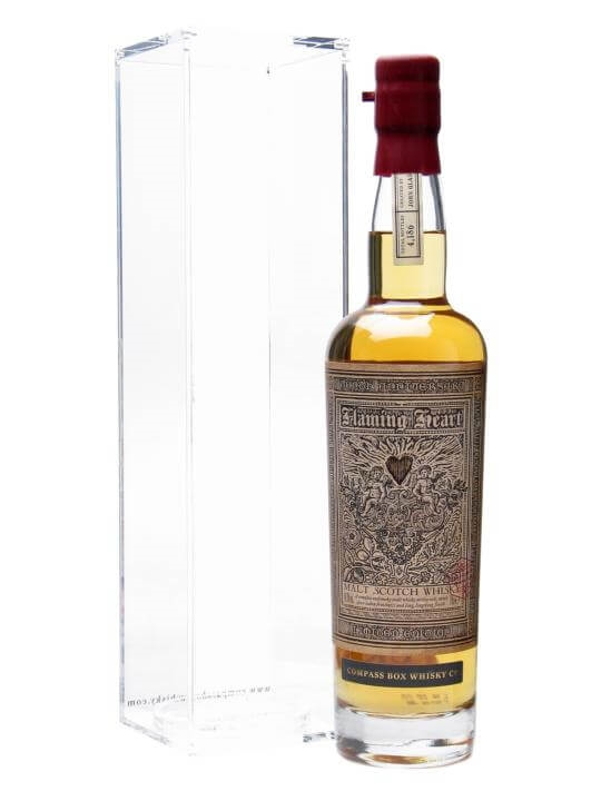 Compass Box Flaming Heart 10th Anniversary Blended Malt Scotch Whisky