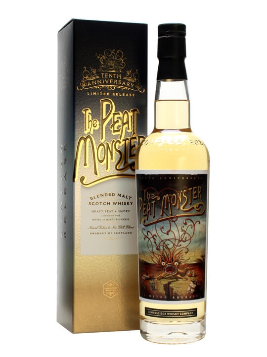 Compass Box Peat Monster 10th Anniversary Blended Malt Scotch Whisky
