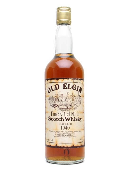 Old Elgin 1940 Blended Malt Scotch Whisky
