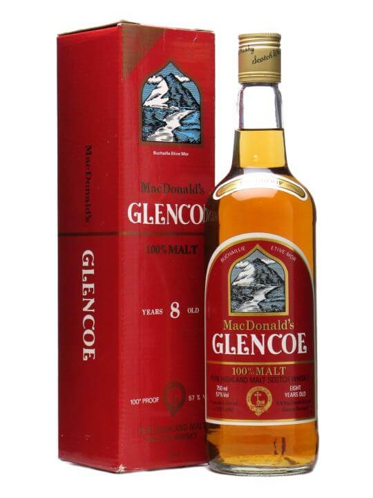 Glencoe 8 Year Old / Bot.1980s Blended Malt Scotch Whisky