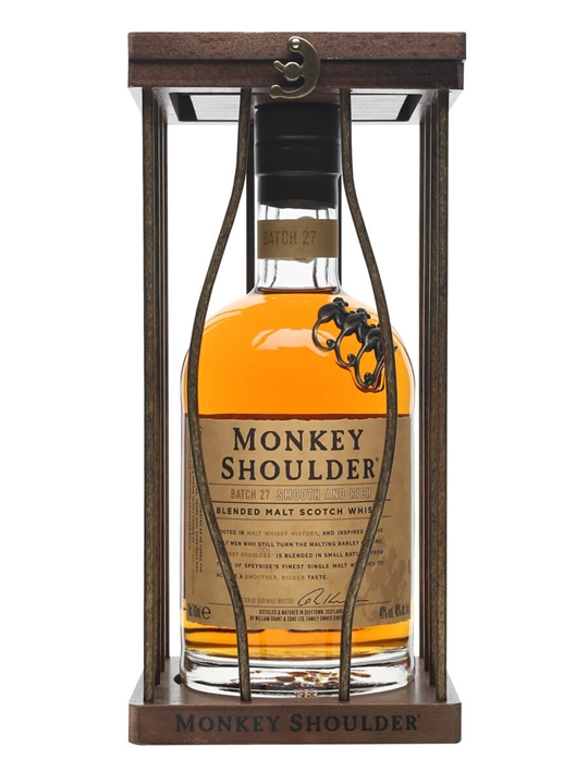 Monkey Shoulder Blended Malt Caged Edition Blended Malt Scotch Whisky