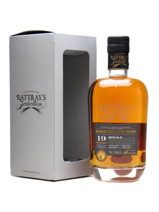 Rattray's Selection 19 Year Old Blended Malt / Batch 01 Blended Whisky