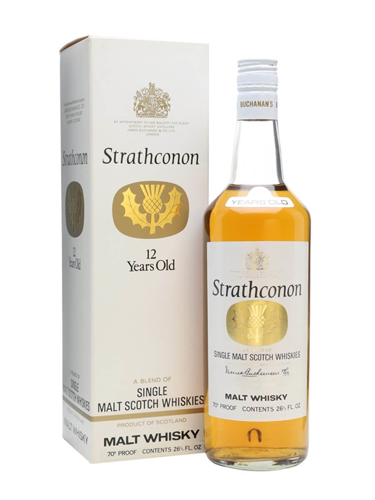 Strathconon 12 Year Old / Bot.1970s Blended Malt Scotch Whisky
