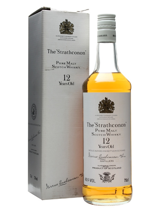 The Strathconon 12 Year Old / Bot.1980s Blended Malt Scotch Whisky
