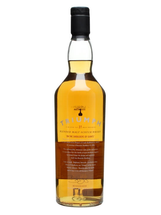 Triumph Blended Malt Whisky Blended Malt Scotch Whisky